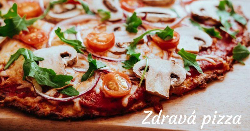 Nízkosacharidová zdravá pizza bez mouky recept