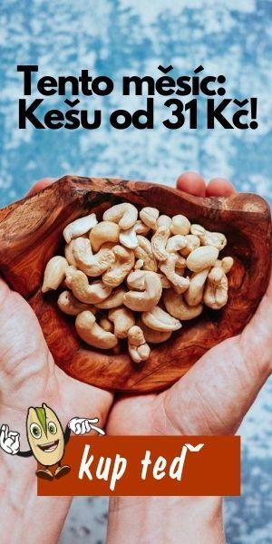 Akce na kešu ořechy