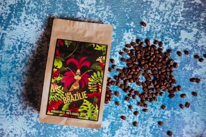 Výběrová jednodruhová káva z Brazílie